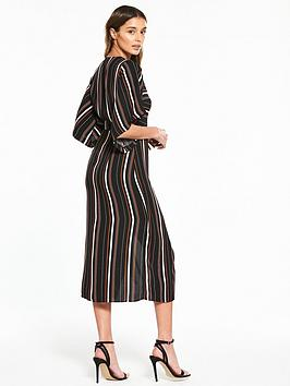 River Multi Stripe Island Dress Under 50 Dollars Good Selling Online Very Cheap Price Cheap Sale Inexpensive E2mvC80