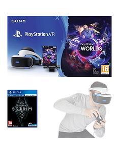 playstation-vr-starter-pack-with-the-elder-scrolls-v-skyrimnbspand-vr-worlds