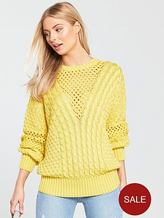 v-by-very-cable-and-mesh-detail-jumper