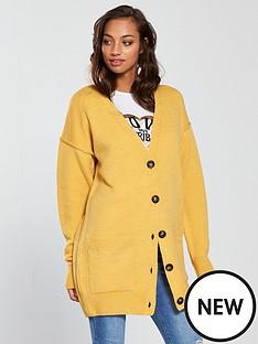v-by-very-oversized-button-through-cardigan-ochre