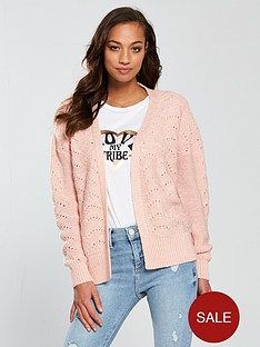 v-by-very-cropped-pointelle-stitch-cardigan-pinknbsp