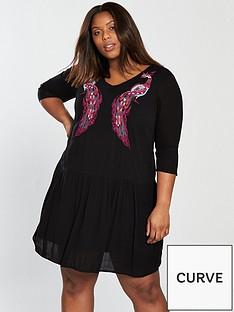 junarose-curve-makie-orientalnbspshift-dress
