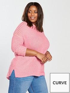 junarose-curve-yasmin-long-sleeve-wide-knit-jumper