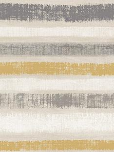 arthouse-painted-stripe-wallpaper--nbspgrey-amp-ochre