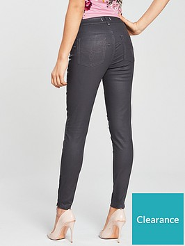 7a294ccfca15d0 Ted Baker Aneella Coated Skinny Jean - Grey. (5.0). 5 ☆1  4 ☆0  3 ☆0  2 ☆0   1 ☆0. Read 1 review · 1 review. View larger