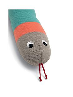 mamas-papas-knitted-snake-soft-toy