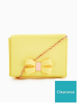 ted-baker-stacyy-looped-bow-evening-bag-yellow