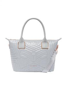 ted-baker-ted-baker-carisee-small-reflective-quilted-tote-bag