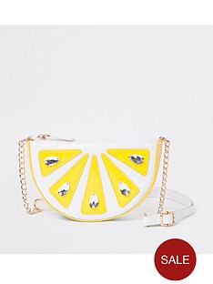 river-island-girls-lemon-embellished-cross-body-bag