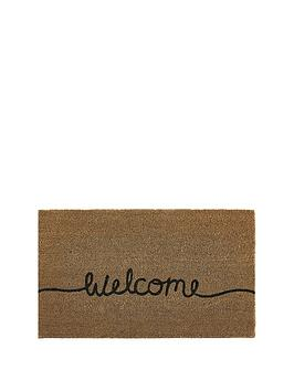 welcome-coir-doormat