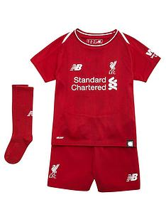 New Balance Liverpool FC Baby 18 19 Home Kit Set dec4ec065b36