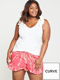 junarose-elavia-sleeveless-top-with-ruffle-detail-white