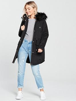 Very Parka by V nbsp Ultimate Black  Petite For Sale Buy Authentic Online Discount From China Store Cheap Price NZ69Oy