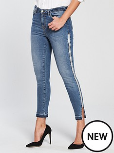 v-by-very-ella-high-waisted-side-zip-contrast-jeans