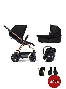 mamas-papas-sola2-rose-gold-5-piece-bundle-pushchair-carry-cot-car-seat-adaptor-and-cupholder