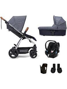 mamas-papas-sola2-chrome-5-piece-bundle-pushchair-carrycot-car-seat-adaptor-and-cupholder