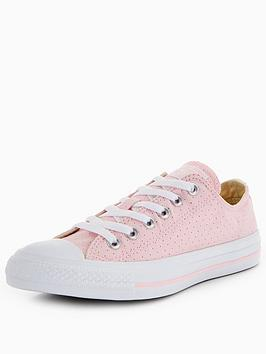 Chuck All Star Ox Pink Converse Taylor White Discount Finishline 8YL9Su