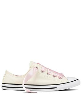 Converse Taylor  Ox Pink Chuck Cream Converse Dainty Free Shipping Cheap Online llKzD