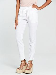 v-by-very-cutwork-linen-trouser