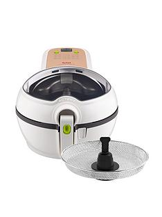 tefal-actifry-original-plus-with-snacking-tray-gh847040-health-fryer-white
