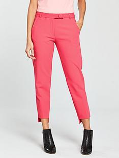 river-island-stepped-hem-cigarette-trousers--pink