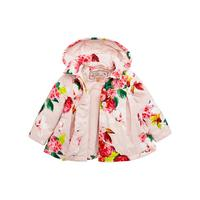 485557ce5c8d Baker by Ted Baker Baby Girls Floral Print Lightweight Jacket ...
