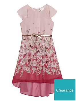 b1a6635d47e9 Baker by Ted Baker Girls Hi Lo Maxi Dress - Light Pink |  littlewoodsireland.ie