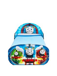 thomas-friends-thomas-amp-friends-toddler-bed-with-underbed-storage-by-hellohome