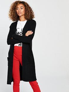 v-by-very-longlinenbsprib-cardigan-black