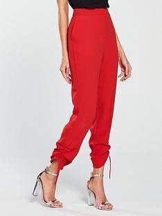 v-by-very-drawstring-hem-trousers-rednbsp