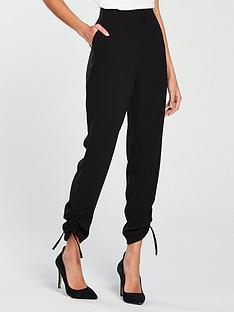 v-by-very-drawstring-hem-trouser-black
