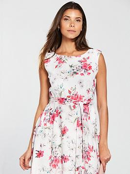Blossom Fit Flare Floral Dress Wallis and Low Cost For Nice Cheap Online Cheap Limited Edition 19yPaXiQuR