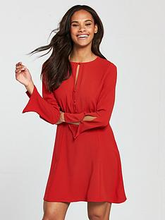 b8a9c418457e Mango Cut Out Detail Dress - Red