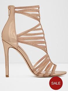 aldo-fabricdiroma-heeled-sandal-metallic