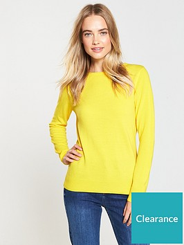 v-by-very-supersoft-crew-neck-jumper-yellow