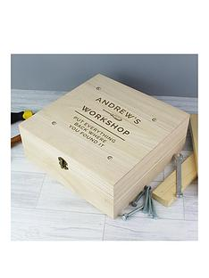 father039s-day-personalised-large-wooden-workshop-box