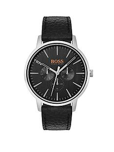 hugo-boss-orange-copenhagen-black-dial-black-leather-strap-mens-watch