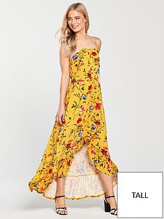v-by-very-tall-dip-back-button-through-jersey-dress-mustard