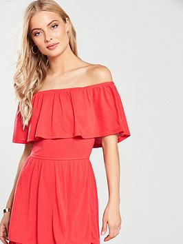 Maxi Very Jersey Dress  Tiered V Coral by Free Shipping Low Cost pKU09F6W8
