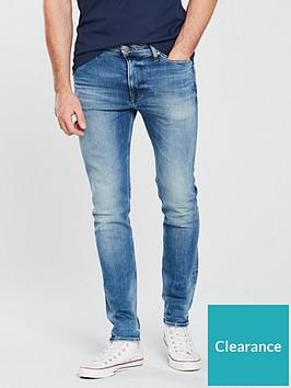 3cb28ef0 Tommy Jeans Skinny Simon Jeans - Wilson Light Blue ...