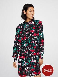 mango-floral-print-dress