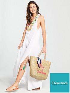 v-by-very-embroiderednbspsplit-beach-maxi-dress-white