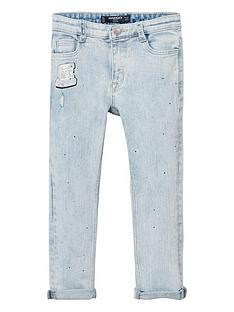 mango-girls-sparkle-skinny-jeans