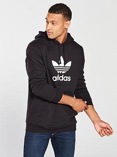 adidas-originals-trefoil-hoodie-black