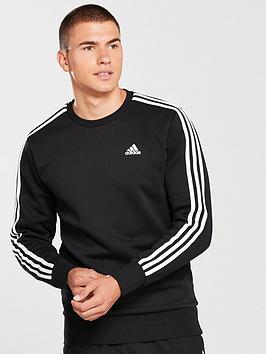 adidas-essential-3s-crew-neck-sweat