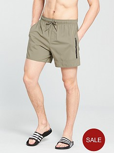 adidas-solid-swim-shorts