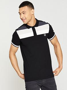 fred-perry-colour-block-pique-polo