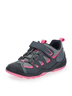 start-rite-older-girls-charge-lace-up-trainer-pinkgrey