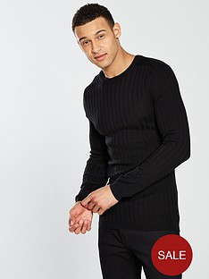 river-island-ls-clarke-knitted-jumper