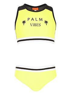 river-island-girls-yellow-lsquopalm-vibesrsquo-racer-bikini-set